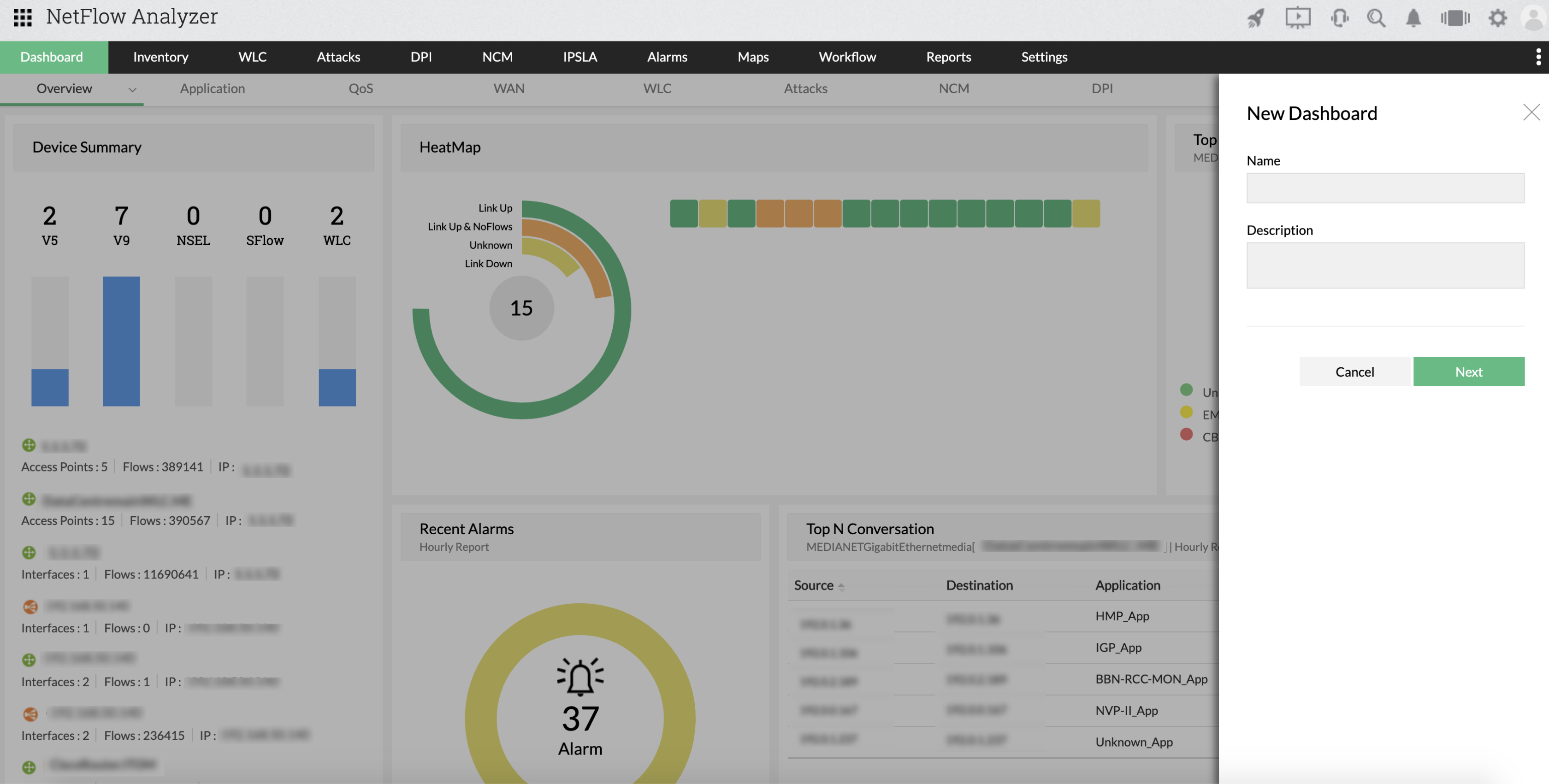 Real-Time Web Traffic Monitor - ManageEngine NetFlow Analyzer