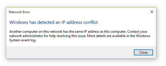 Tools to detect IP Address Conflict – ManageEngine OpUtils