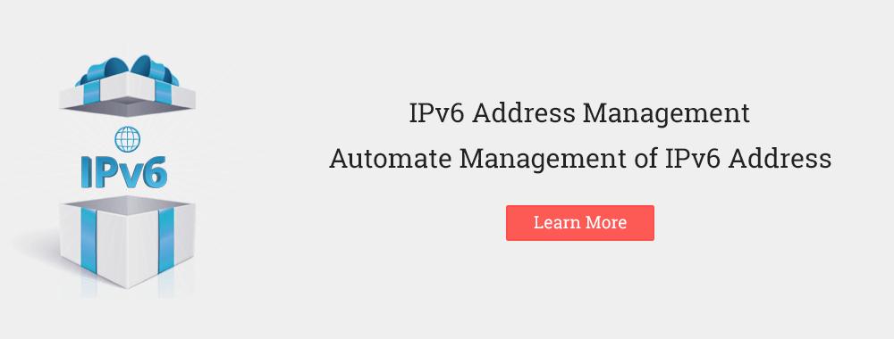IPv6 Address Management