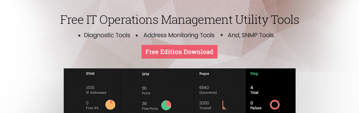 Free IT Operations Management Utility Tools