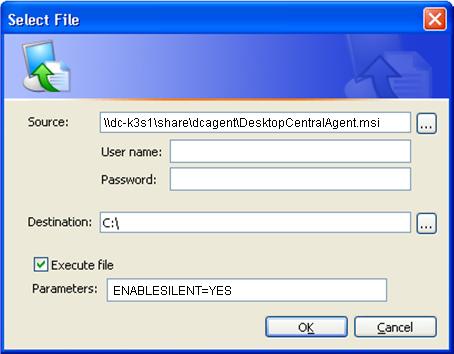 Add Files to Transfer