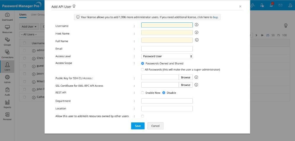 get windows password using java