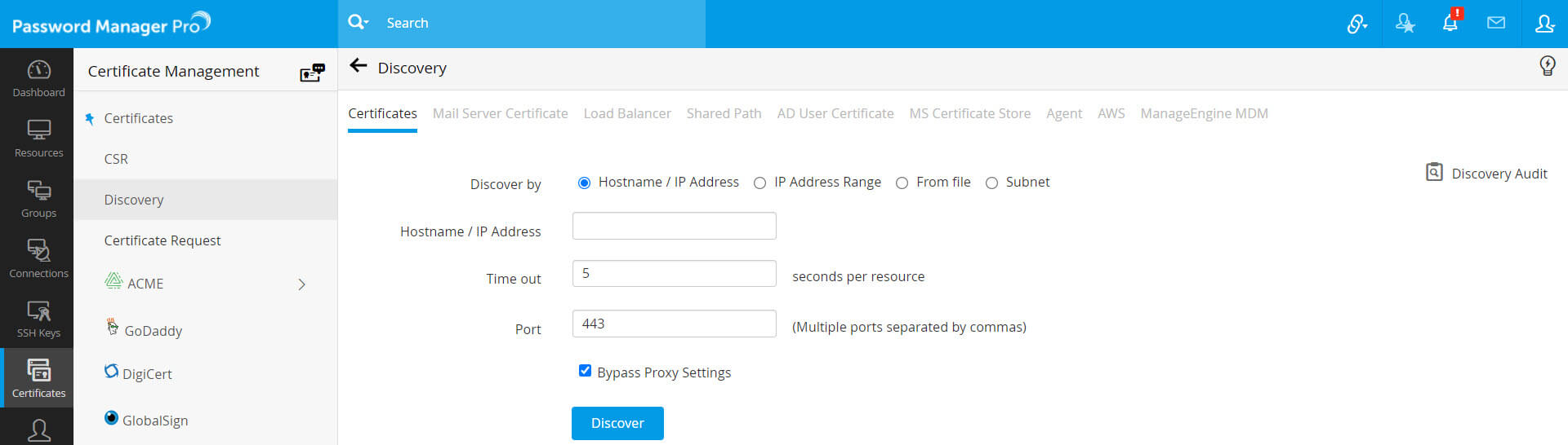 Manage Ssl Certificates