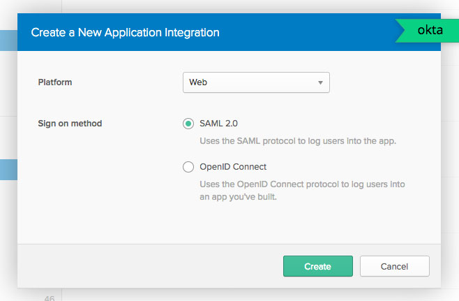 Single-Sign-On Configuration using SAML