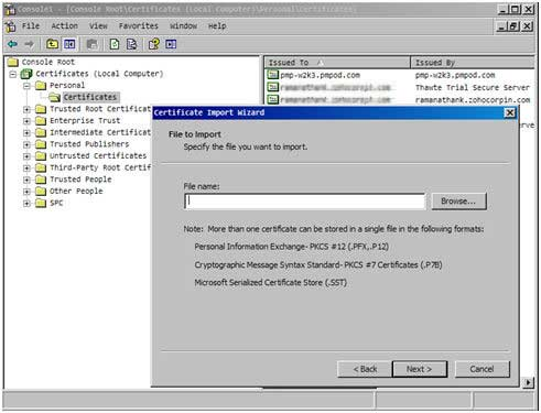 Using MS SQL Cluster as Backend Database
