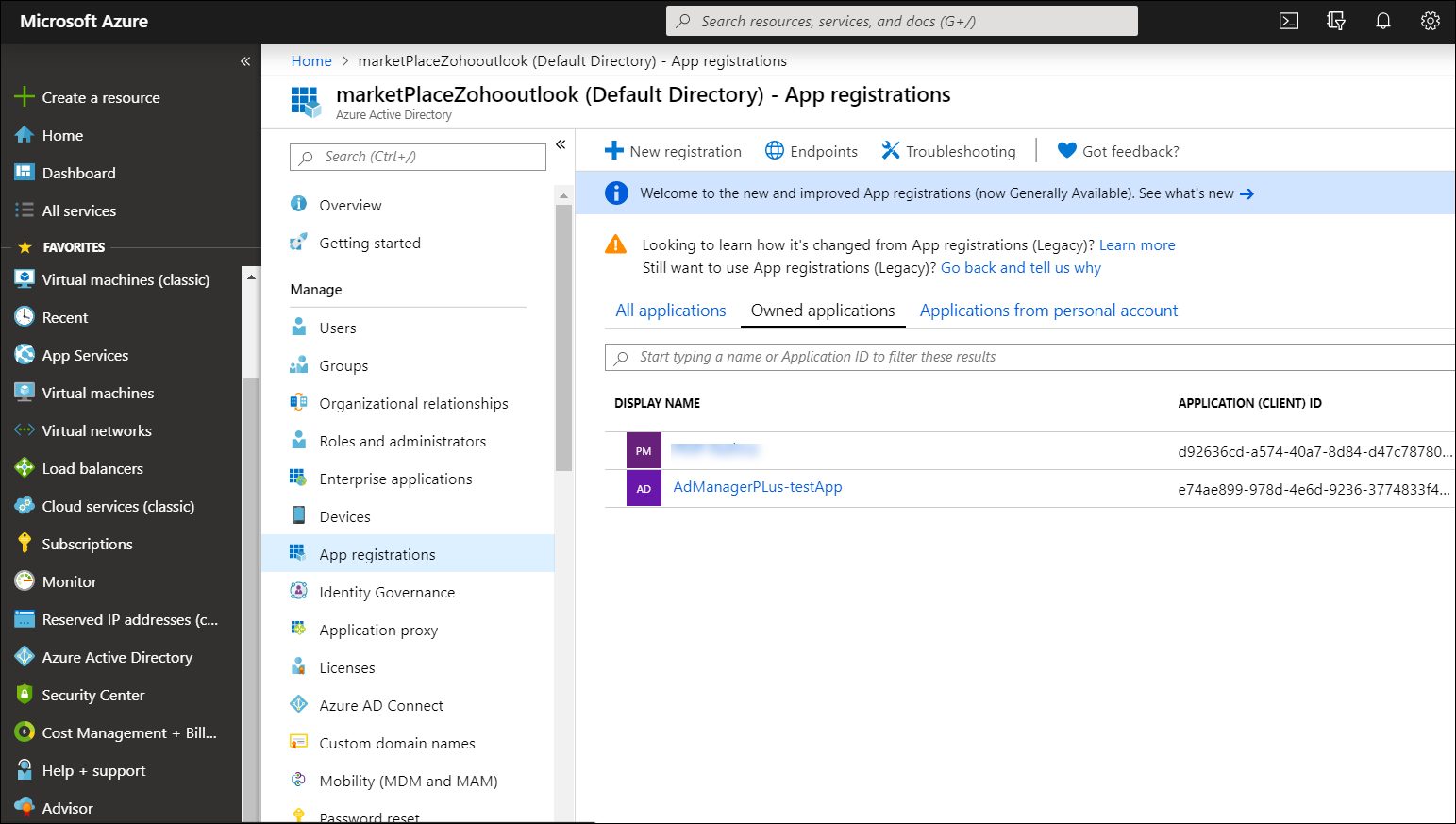 Importing users from Azure AD