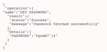 To get the password of an account that is part of a resource
