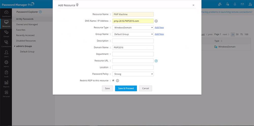 Windows scheduled task password reset