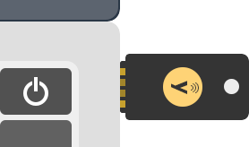 Insert Yubikey into the USB slot of a computer