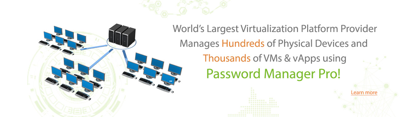 Password Manager Pro - Plataforma de virtualización
