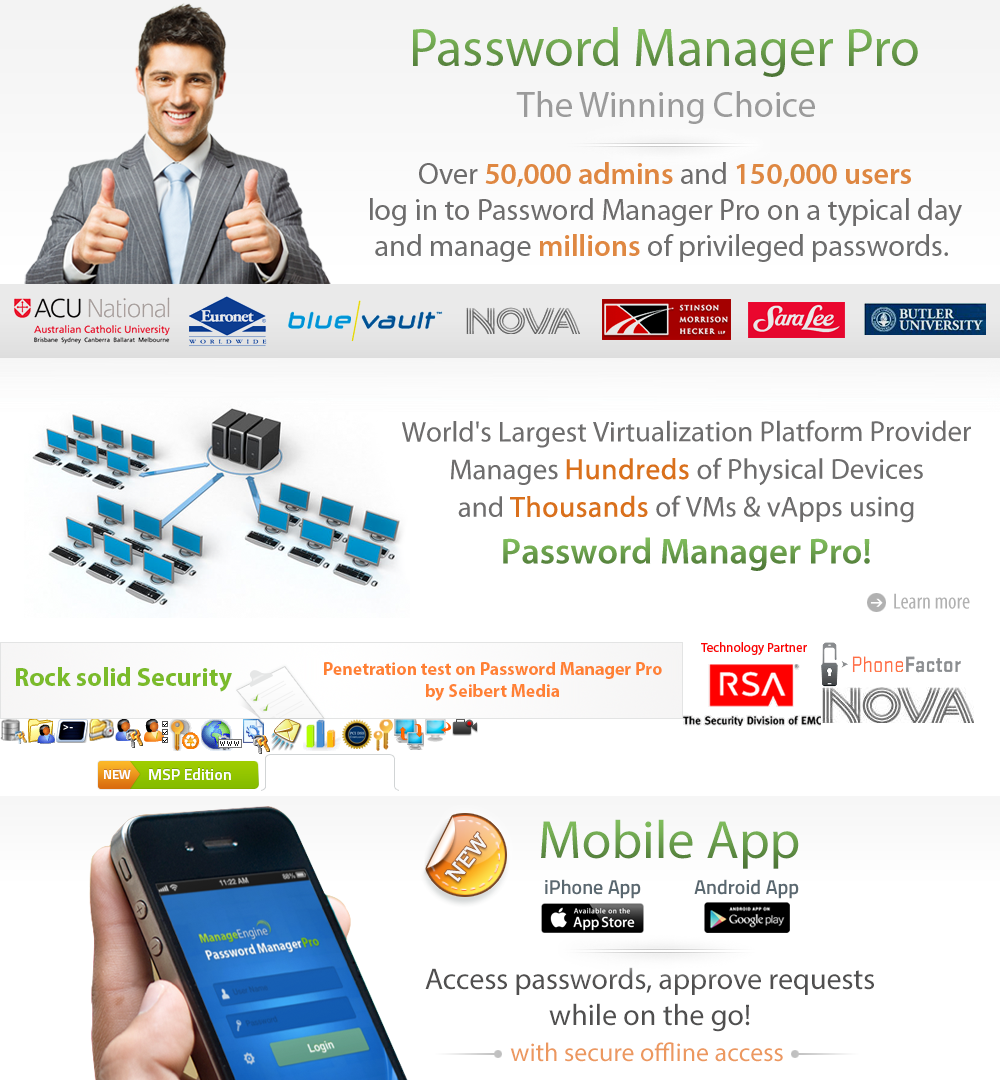 Password Manager Pro - iPhone App