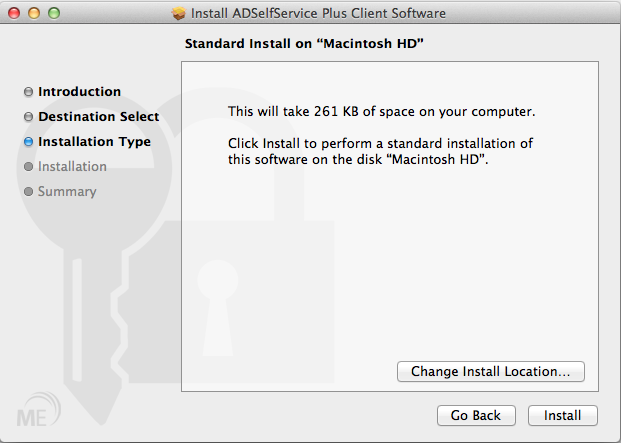 Mac OS X Login Agent Installation - Install Location
