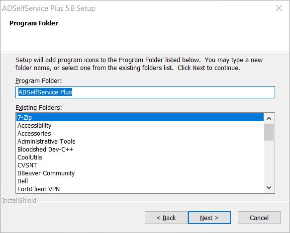 selecting-the-program-folder