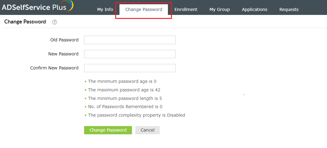 How to change my Windows Active Directory (AD) password?