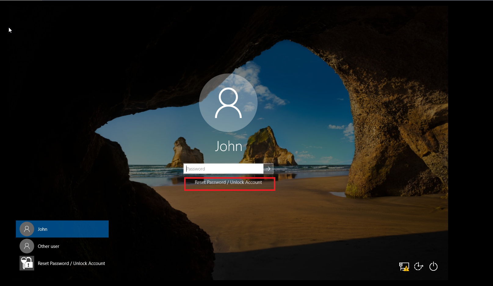 Login agent in Windows