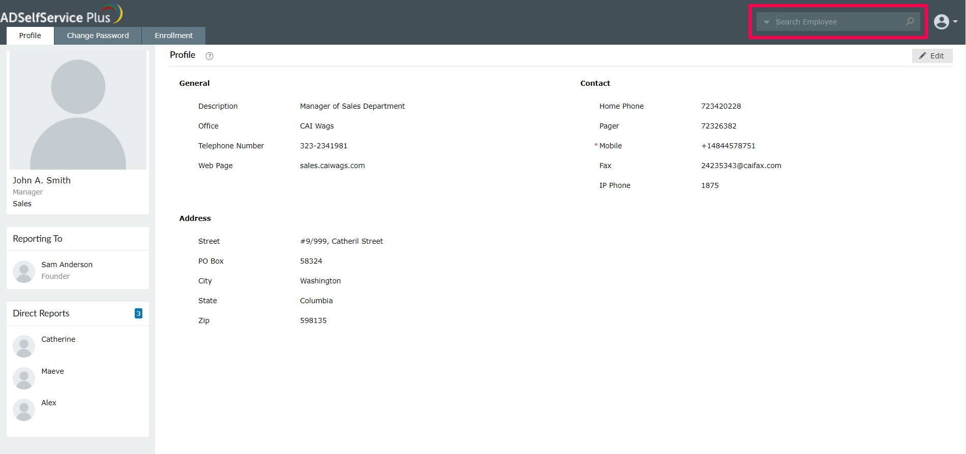 Búsqueda en Active Directory
