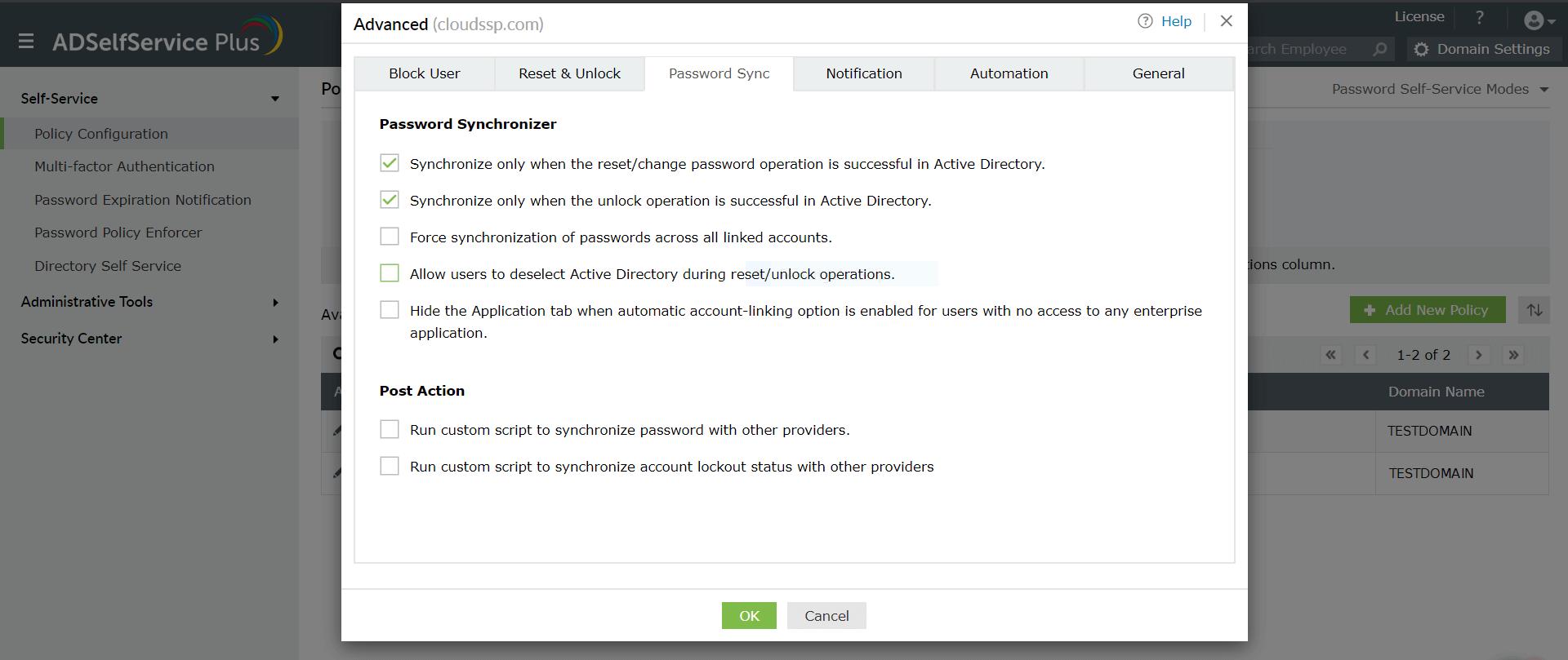 Password Sync