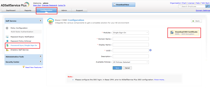 download-base-CRM-sso-certificate