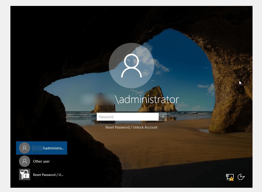How to reset Windows 10 local account passwords
