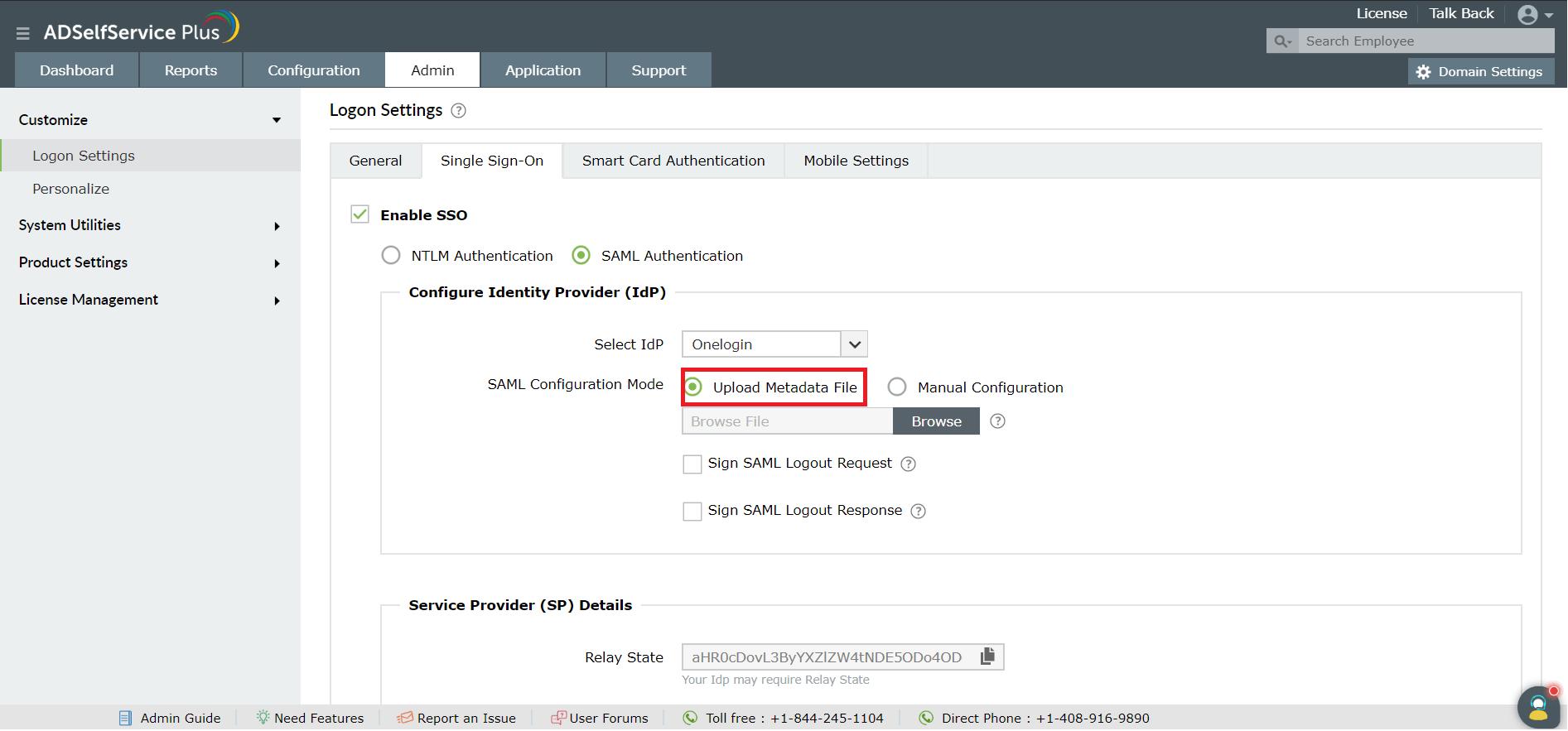 sso-logon-settings