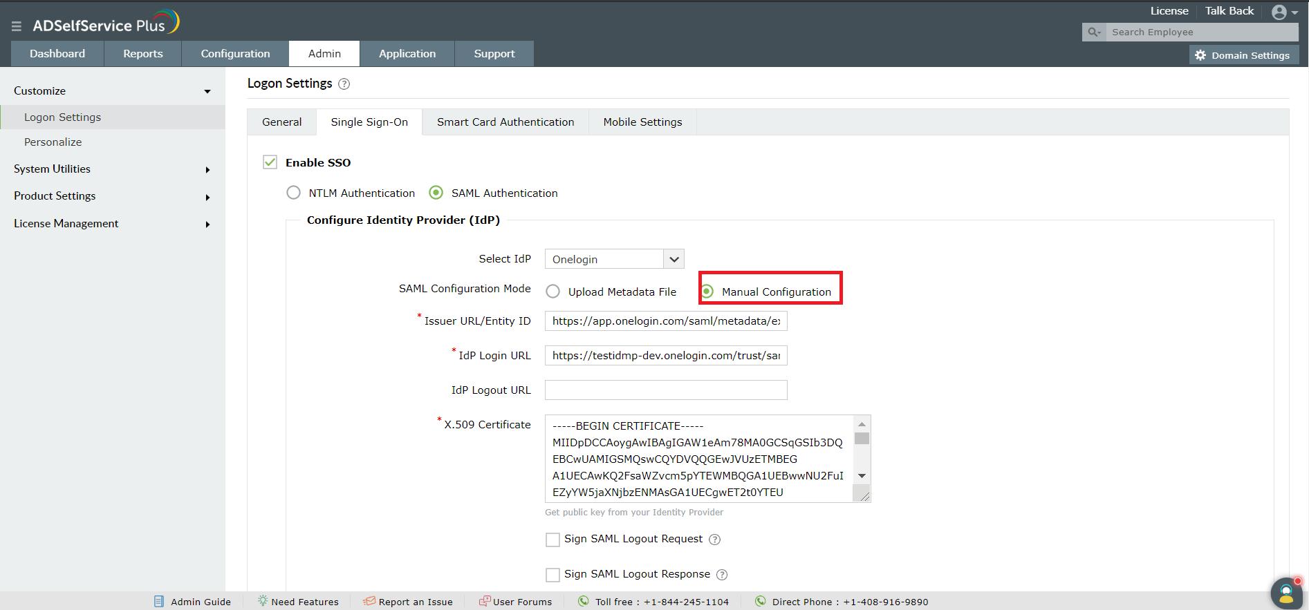 sso-saml-authentication-setting