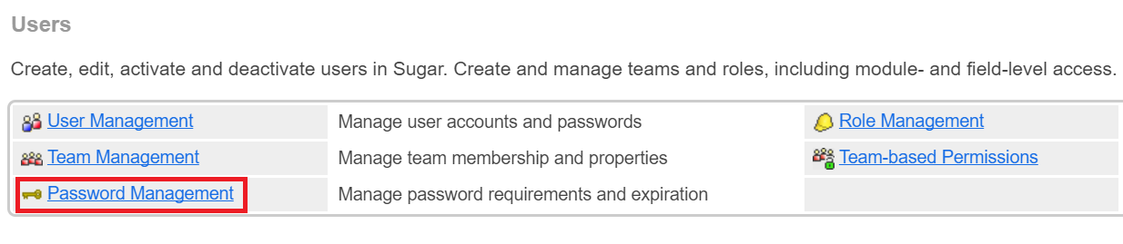 sugarcrm-sso-password-management