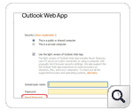 Contraseña de autoservicio Outlook Web Access