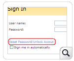 Self service password SharePoint
