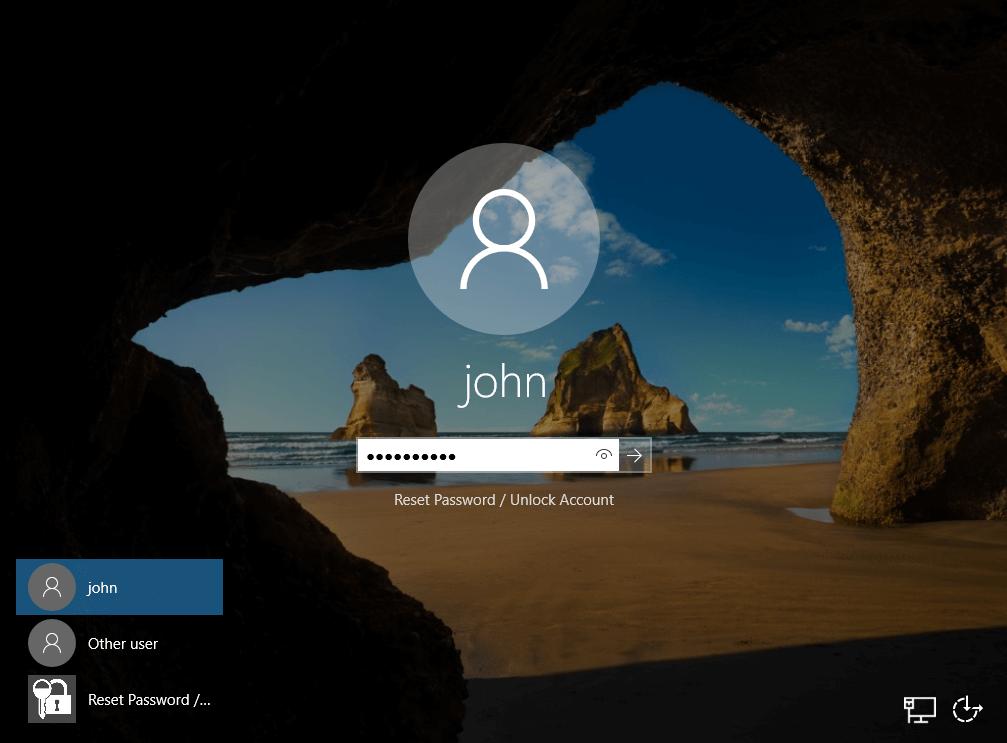 windows logon authentication