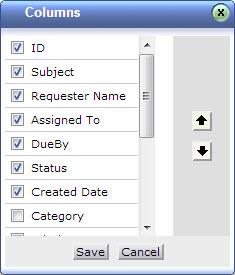 request-column-list