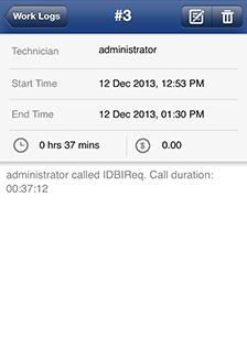 Help Desk MSP Iphone App