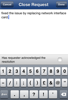 Help Desk MSP Iphone App