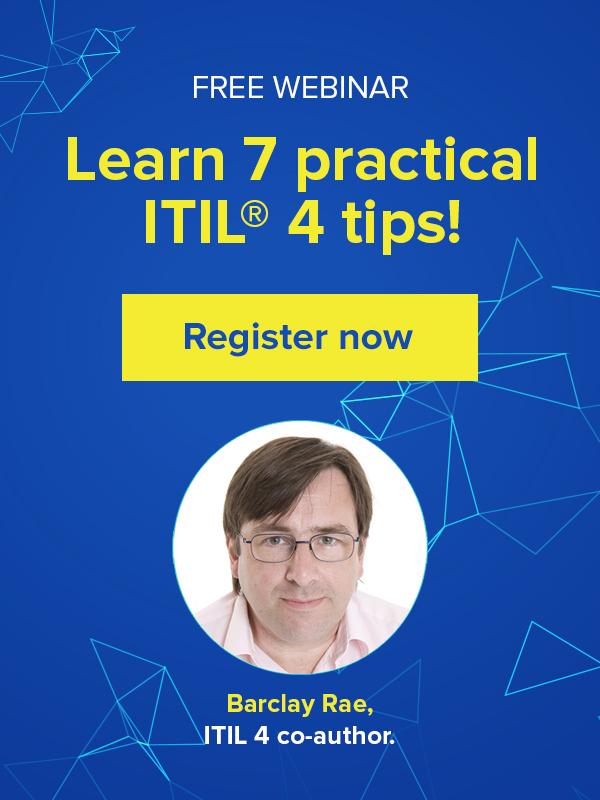 ITIL 4 training