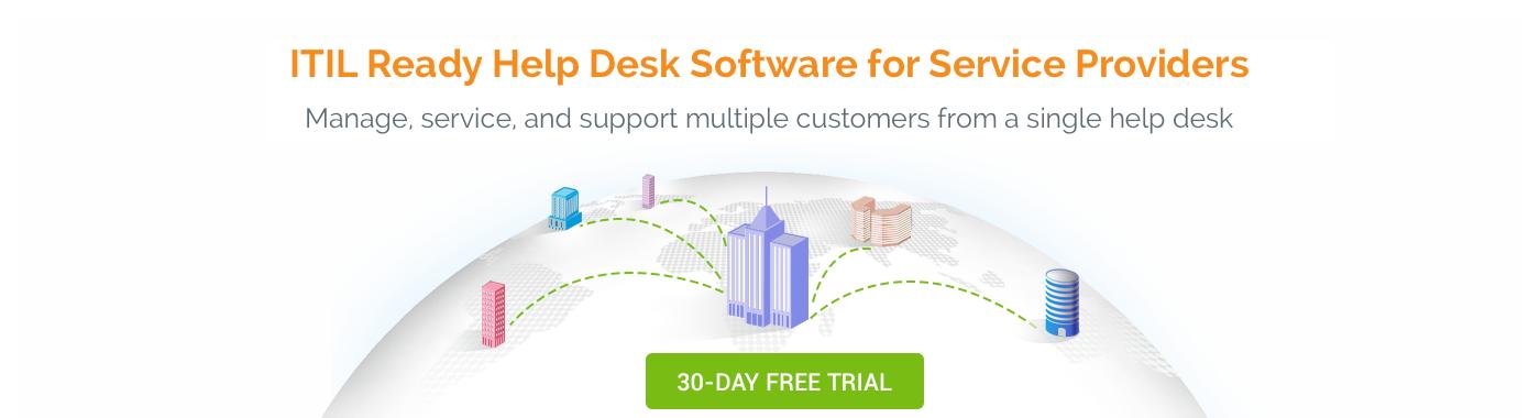 ServiceDesk Plus MSP Banner