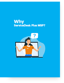 ServiceDesk Plus MSP overview PPT