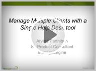 ServiceDesk Plus - MSP Presentation
