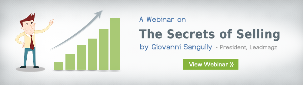 The Secrets of Selling A Webinar by - Giovanni Sanguily
