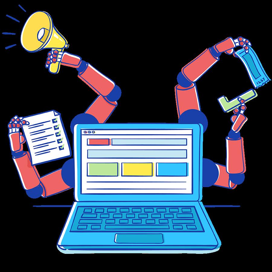 Automatización de la gestión de servicios