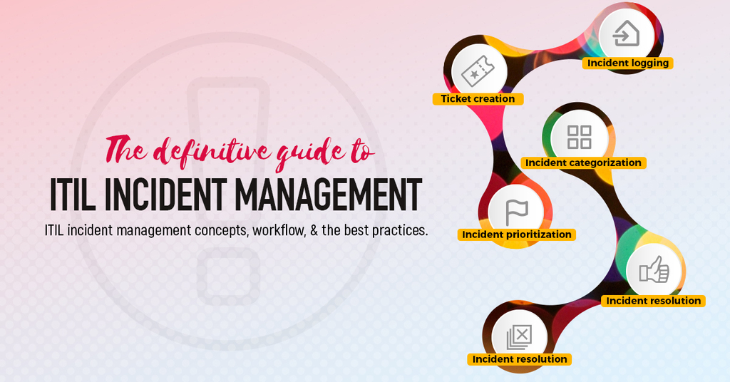 ITIL incident management workflows, best practices, roles