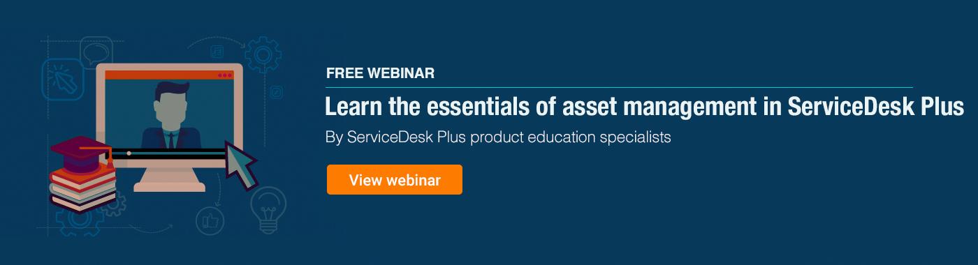 Asset management essentials