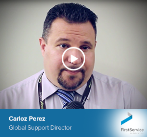 Carloz Perez, Global Support Director