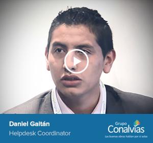 Daniel Gaitan, Helpdesk Coordinator