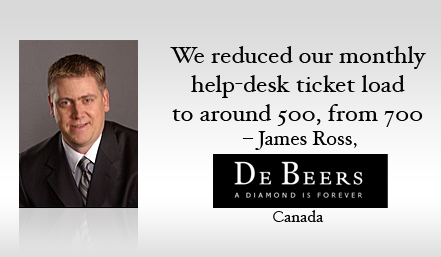 De Beers Canada: The paperless help desk