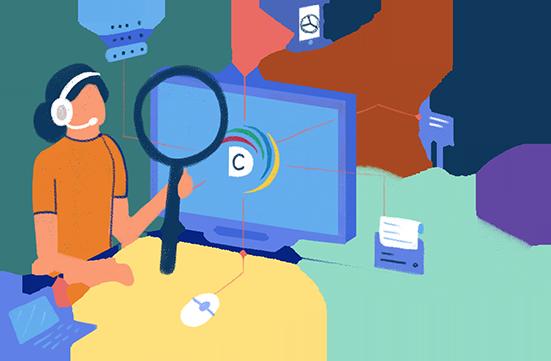 ManageEngine DesktopCentral asset discovery agent