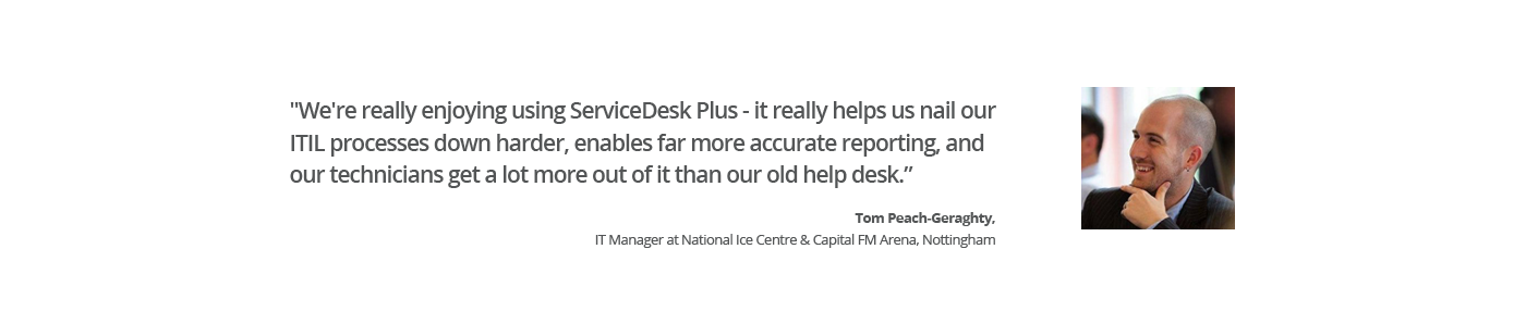 ServiceDesk Plus Customer