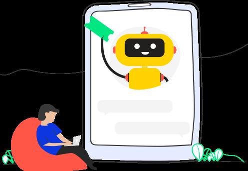 Handling tickets through Microsoft Teams chatbots