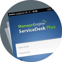 Help desk mobile app