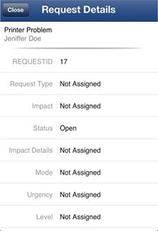 Help Desk iPhone App