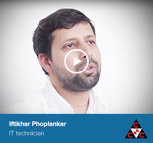 Iftikhar Phoplankar, IT technician