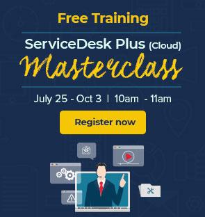 Service desk masterclass cloud training